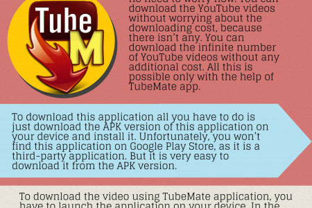 Download TubeMate On Your Android Device Infographic