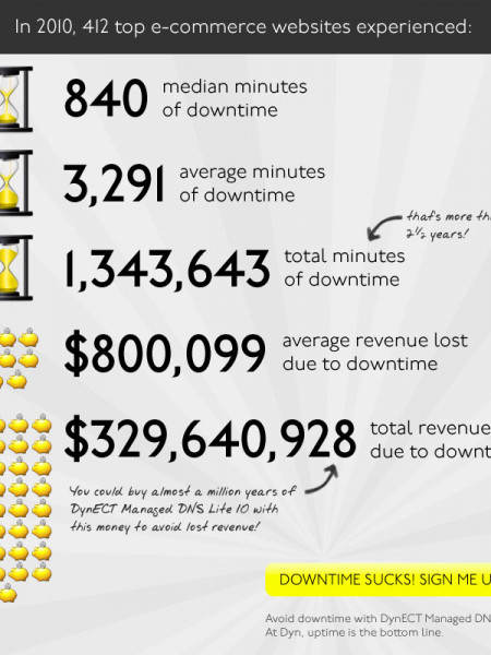 Downtime Ruins Birthdays And Crushes Dreams Infographic