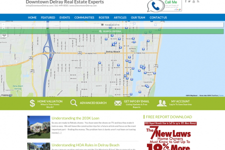 Downtown Delray Real Estate Infographic