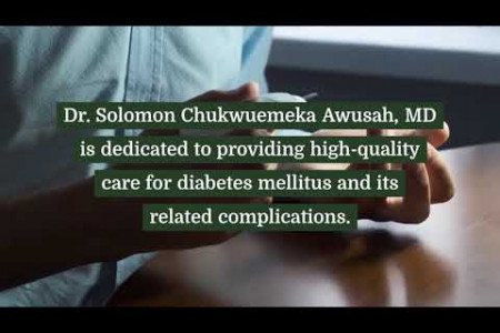 Dr Solomon Awusah Best Doctor For Diabetes Infographic