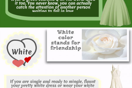 Dress Color Code Significance On Valentine's Day Infographic