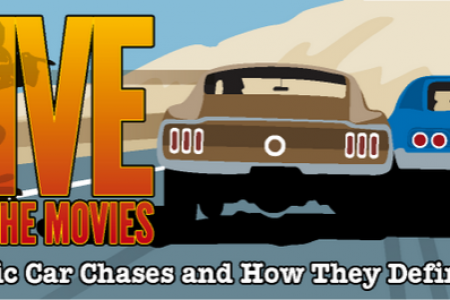 Drive Through the Movies Infographic