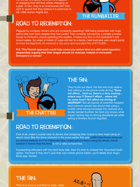 Driver Stereotypes Infographic