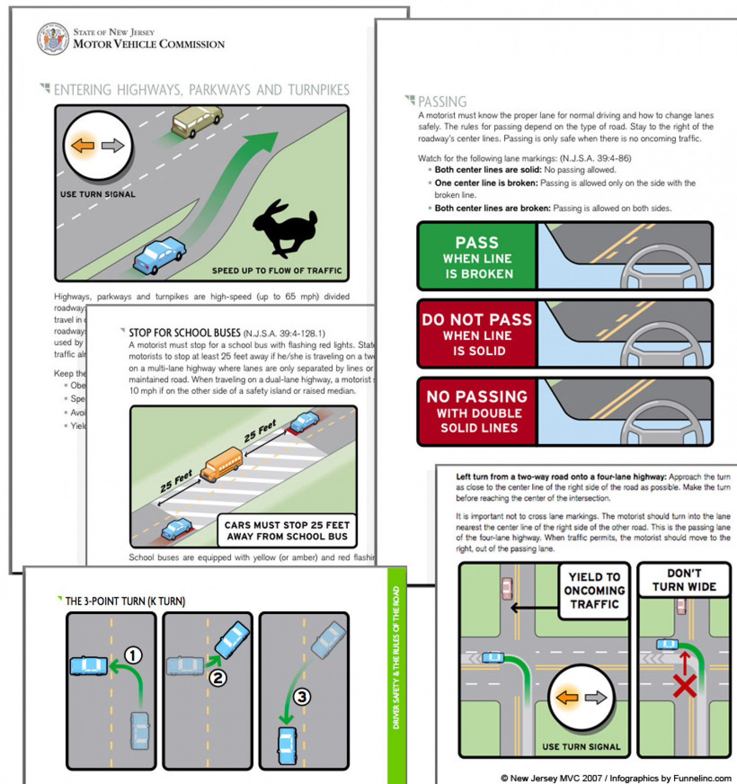 Driving Manual Infographic Infographic