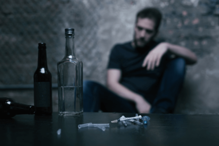 Drug and Alcohol Detox - The First Step to Sobriety Infographic