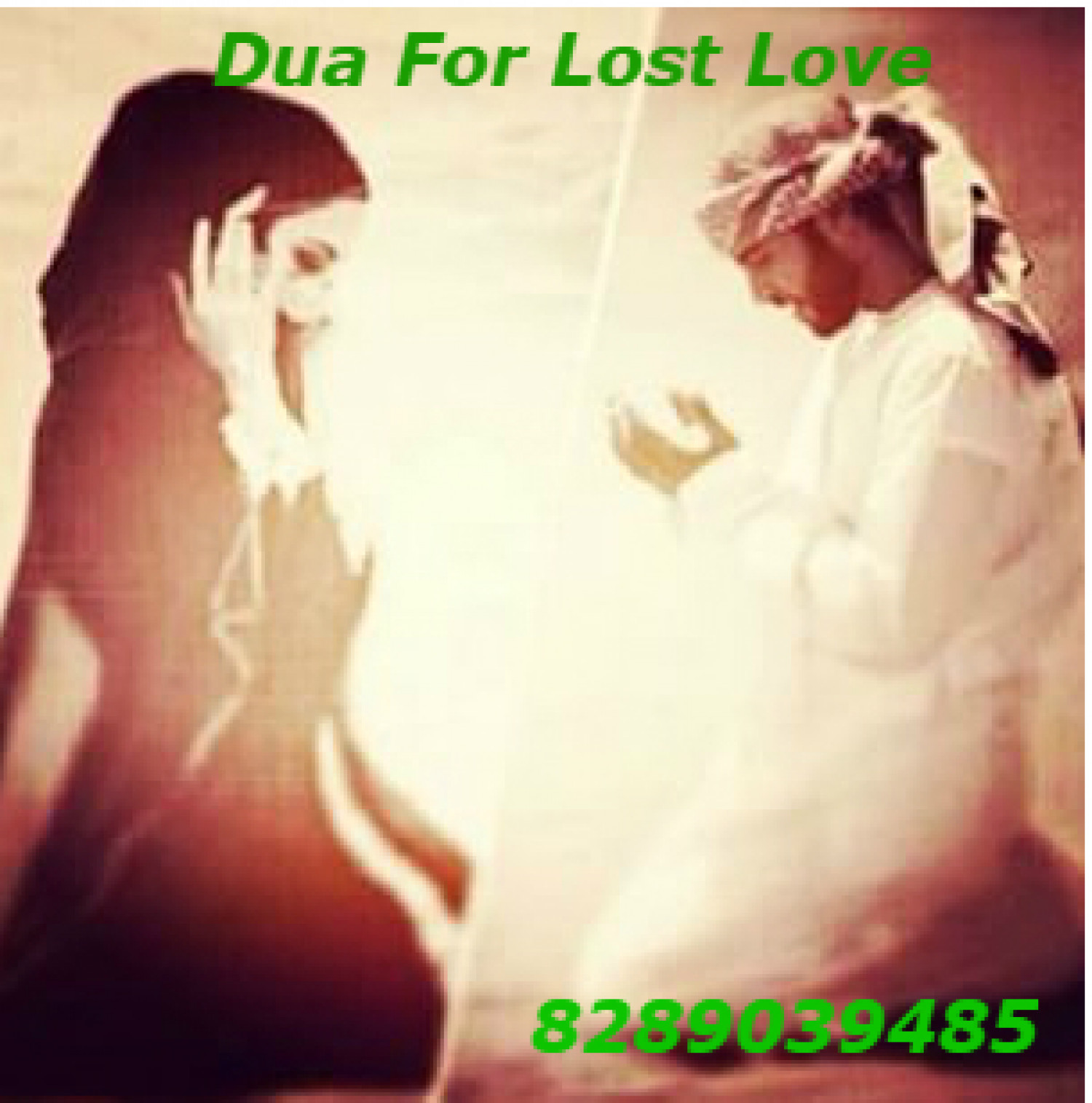Dua for lost love Infographic