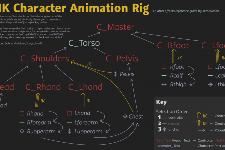 DuIK for After Effects in one simple infographic Infographic