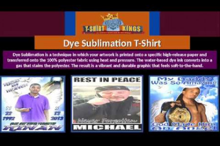 Dye Sublimation T-Shirt - T-Shirt Kings Infographic
