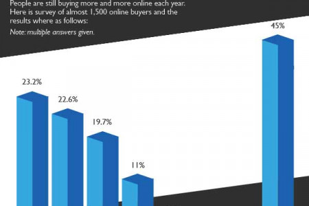 E Commerce Today - A Brief Overview Infographic
