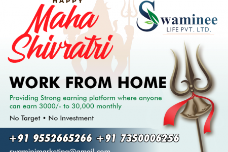 Earn Extra Money and Daily Payout with Swaminee Life Infographic
