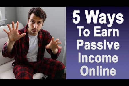 Earn Passive Income - 5 Proven Online Revenue Streams Infographic