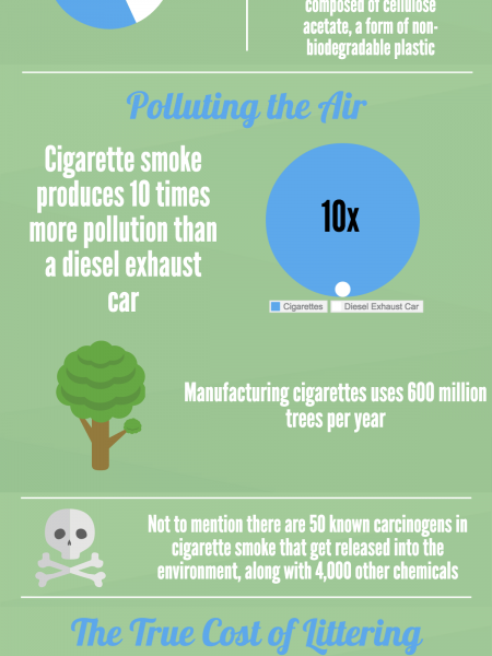 Earth Day 2015: Smoking Does More Than Harm Your Health Infographic