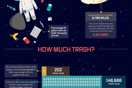 Earth Has a Trash Problem Infographic