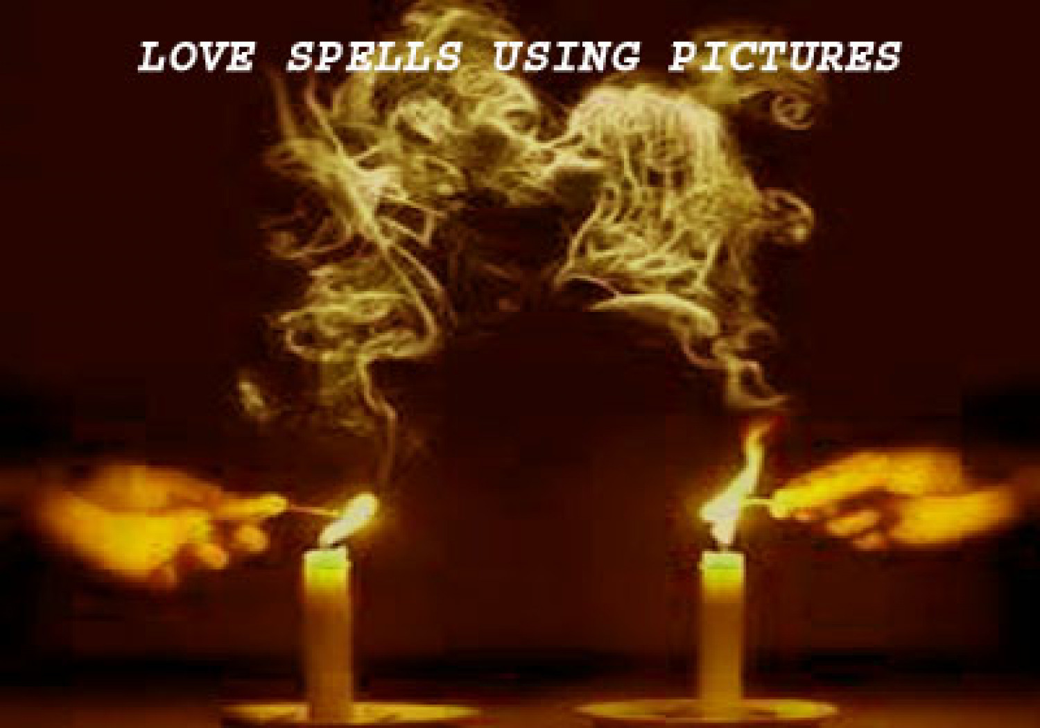 Easy Love Spells With Pictures Infographic