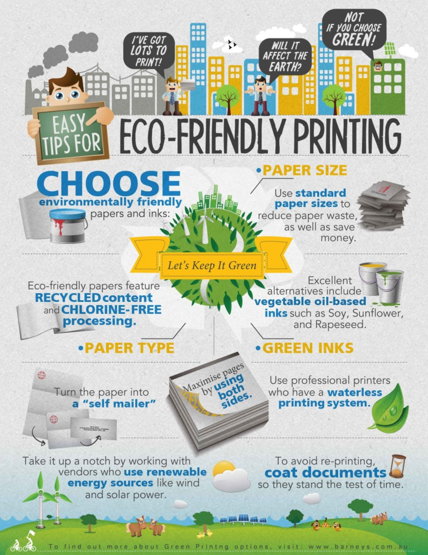 Easy Tips For Eco Friendly Printing