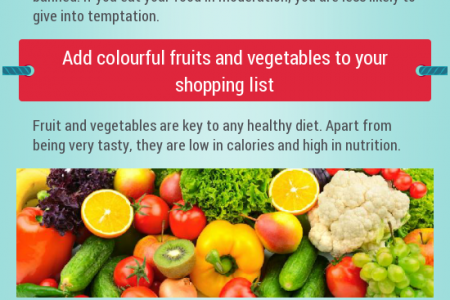 Eating Healthy: The Top Tips Infographic