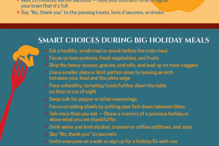 Eating Tips and Tricks During Holidays Infographic