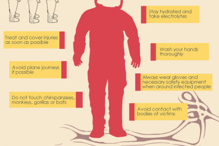Ebola Survival Tips Infographic