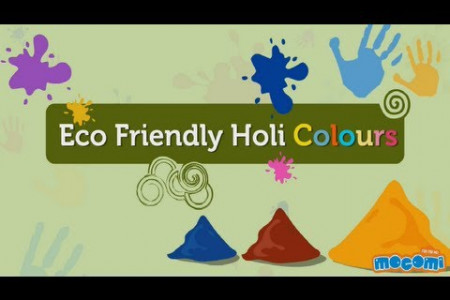 Eco Friendly Holi Infographic