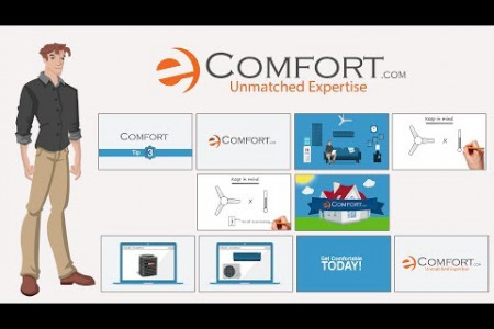 Explainer Video eComfort Infographic