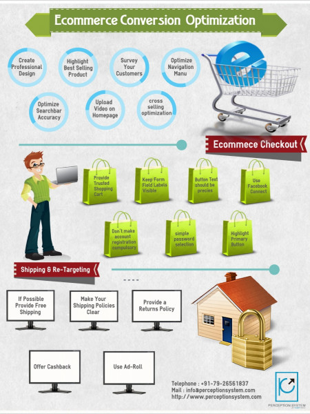 E-commerce Conversion Optimization Infographic