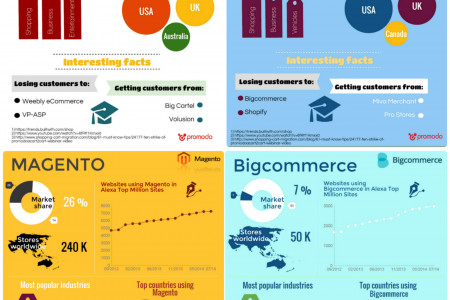 E-commerce platforms overview Infographic