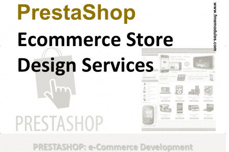 Ecommerce PrestaShop Store Designing at Low Price Infographic