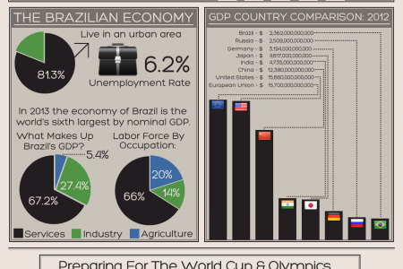 Economic Party Time in Brazil Infographic