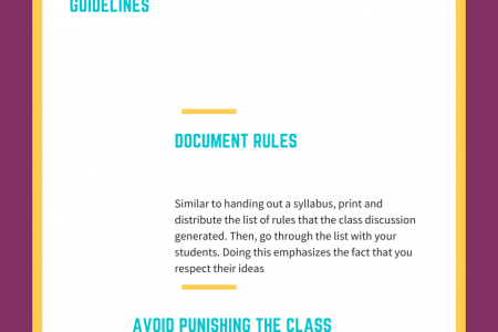 Effective Management in College Infographic