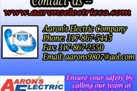 Electrical Contractor Indianapolis - Ceiling Fan Installation - Generator Installation Infographic