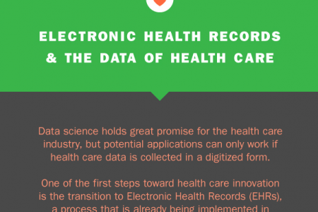 Electronic Health Records & the Data of Health Care  Infographic