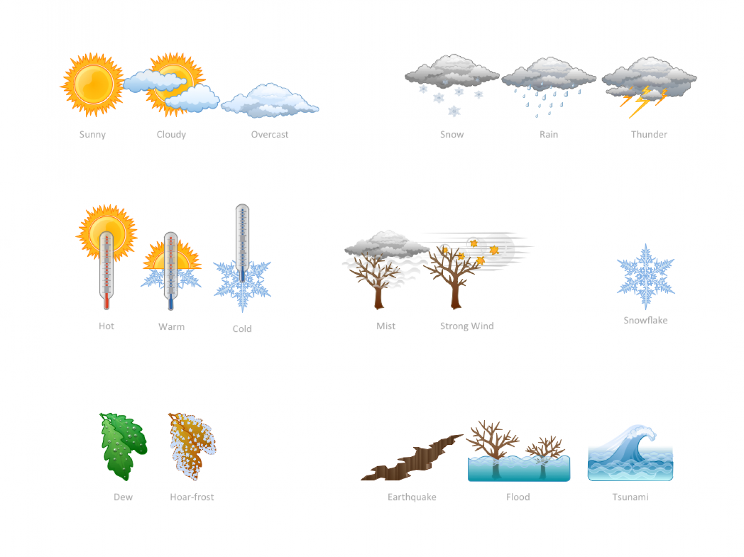 Elements - Weather Infographic