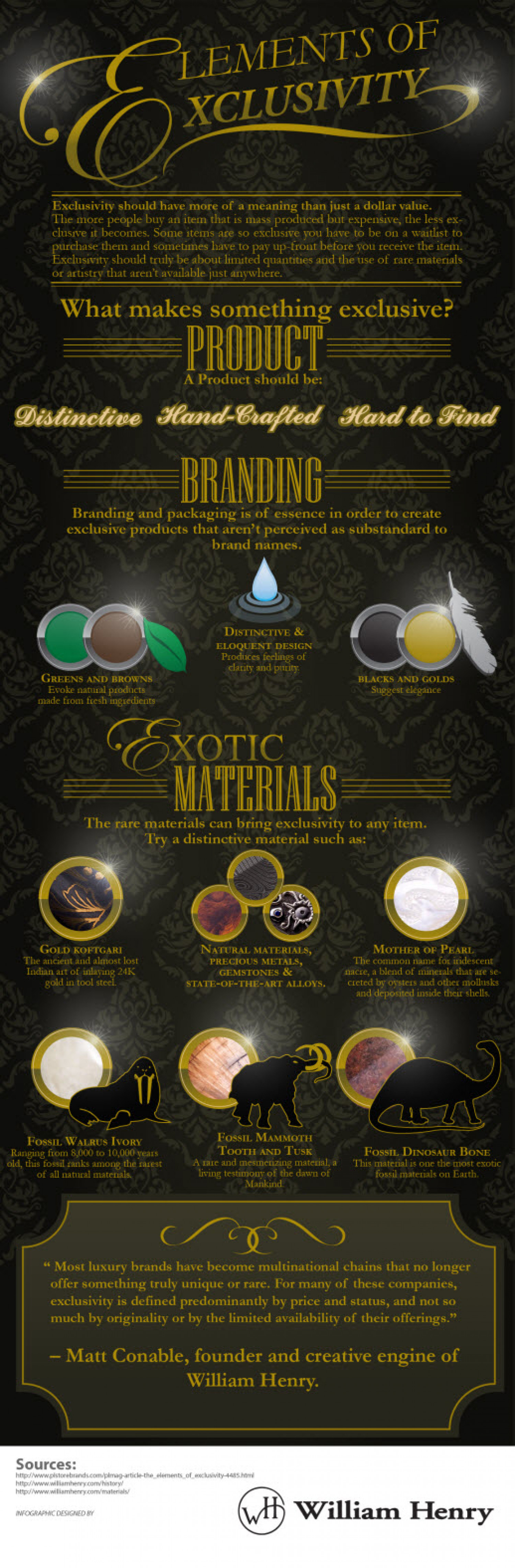 Elements of Exclusivity Infographic
