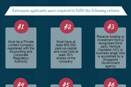 Eligibility to apply entrepreneur pass in Singapore Infographic