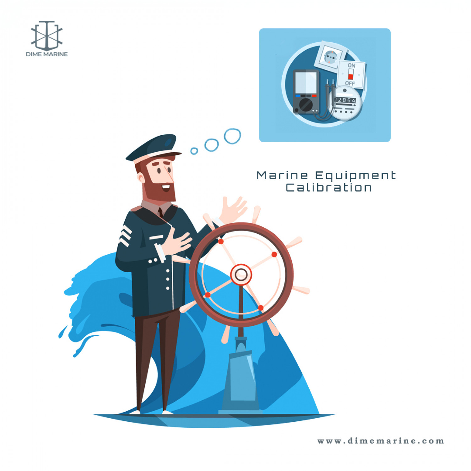 Eliminate maritime risk with proper instrument calibration Infographic