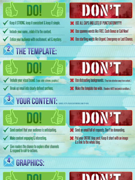 Email Best Practices Infographic