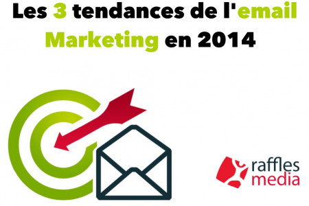 Email Marketing: les 3 tendances clés en 2014 Infographic