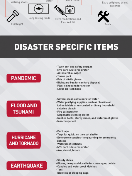 Emergency Preparedness Kits Infographic Infographic