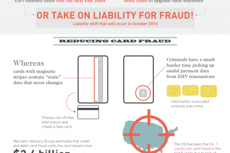 EMV: Coming to Your Wallet in 2015 Infographic