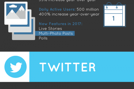 End of the Year Round-Up: How the Social Networks Stack Up Infographic