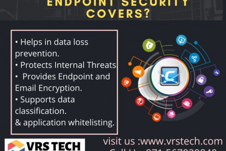 Endpoint Security and Protection Infographic