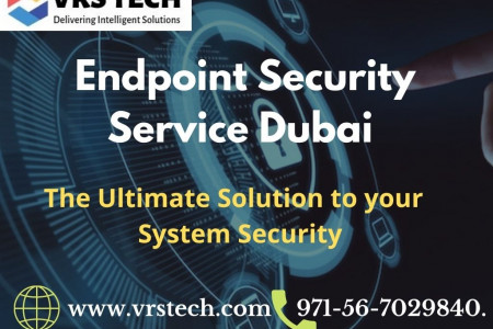 Endpoint Security Management Dubai & Anti Virus Protection Infographic
