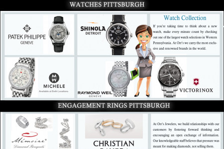 Engagement Rings Pittsburgh Infographic
