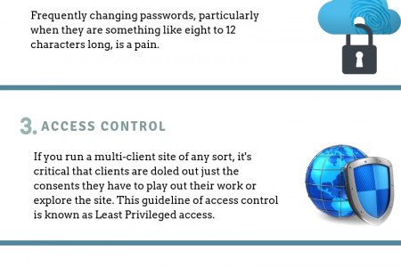 Enhance Your Website Security With Simple Tips Infographic
