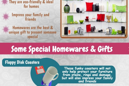 Enjoy the uniqueness of elegant homewares and gifts Infographic