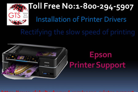 Epson Printer New services.Dial:(800) 294-5907 Infographic