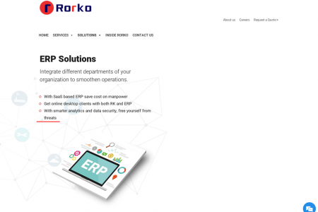 erp companies in india Infographic