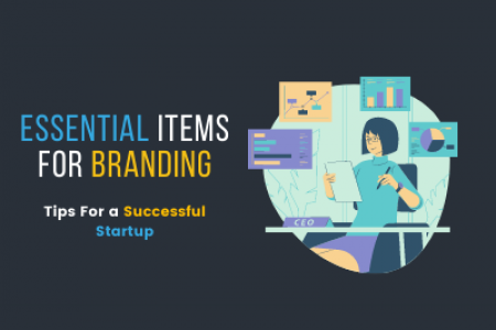 Essential Items for Branding Infographic
