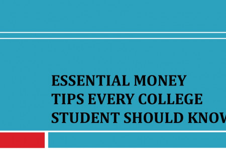 Essential Money Tips Every College Student Should Know Infographic
