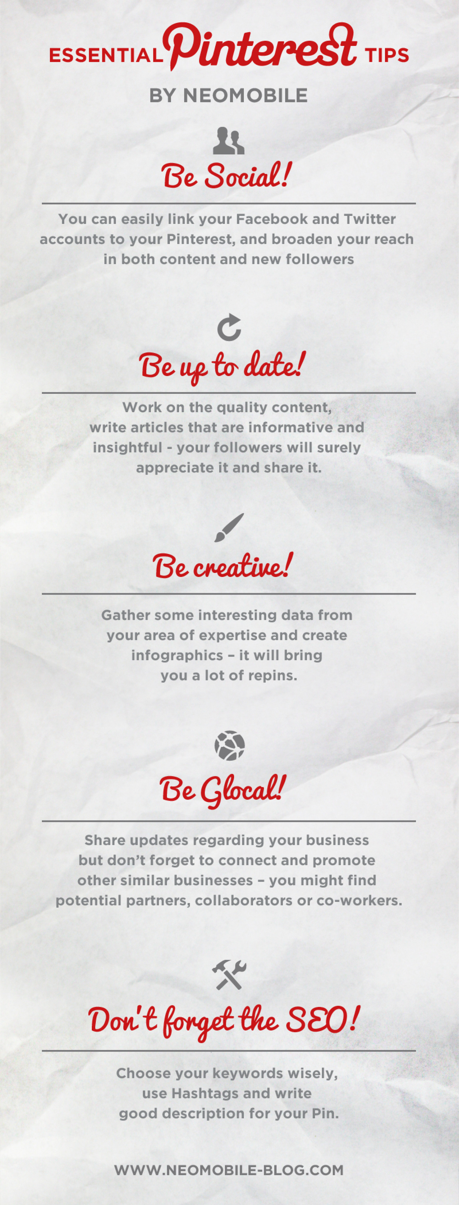 Essential Pinterest Tips Infographic